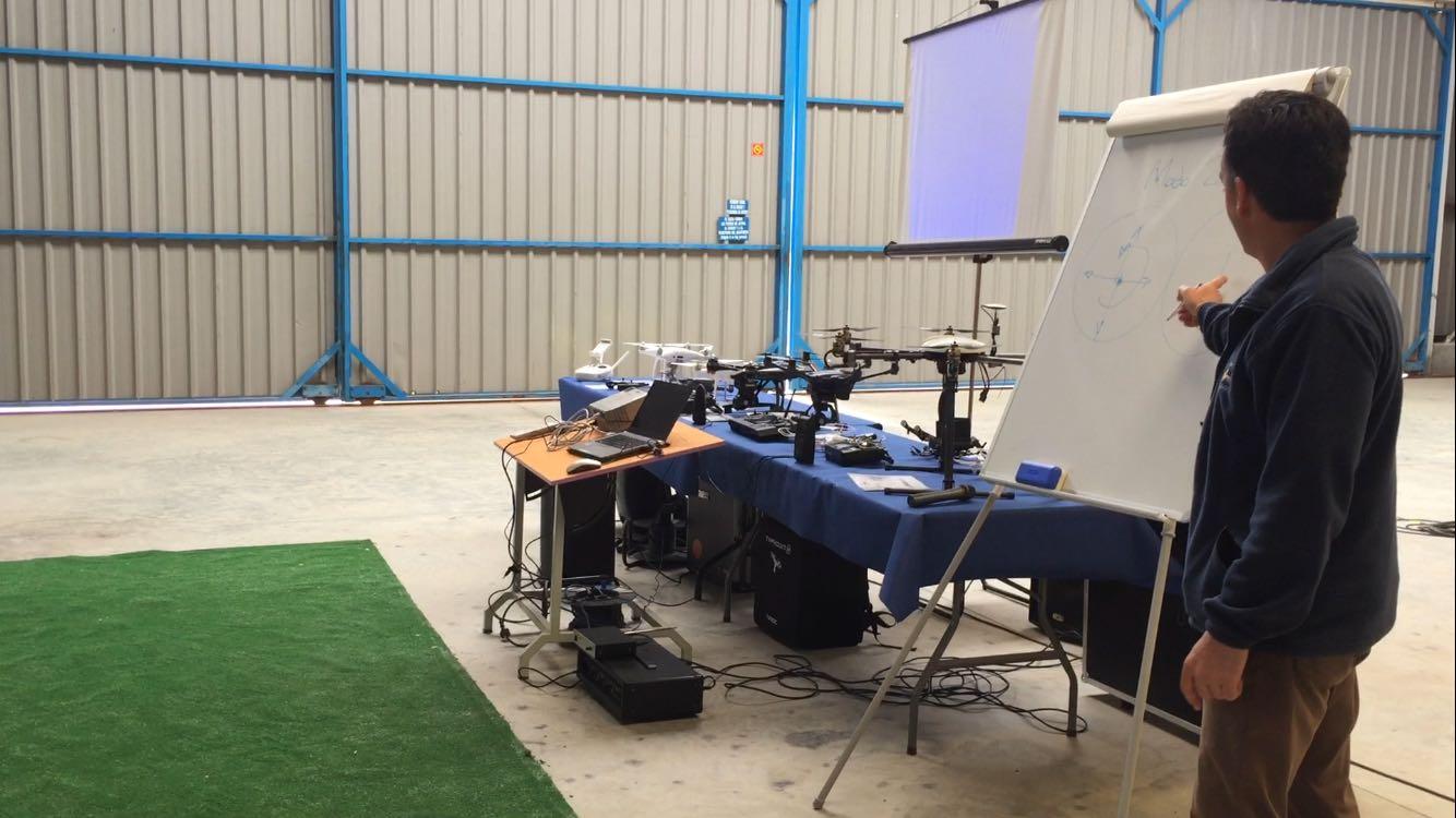 Drones-Hangar